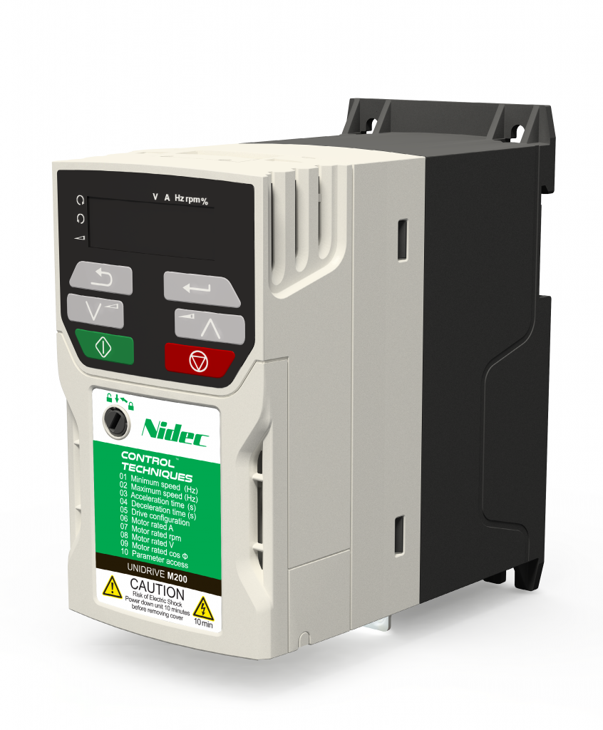 Control Techniques M200 0.55kW single phase 200/240v AC Drive