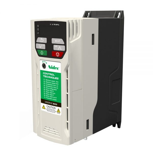 Control Techniques M200 2.2kW dual phase 200/240v AC Drive