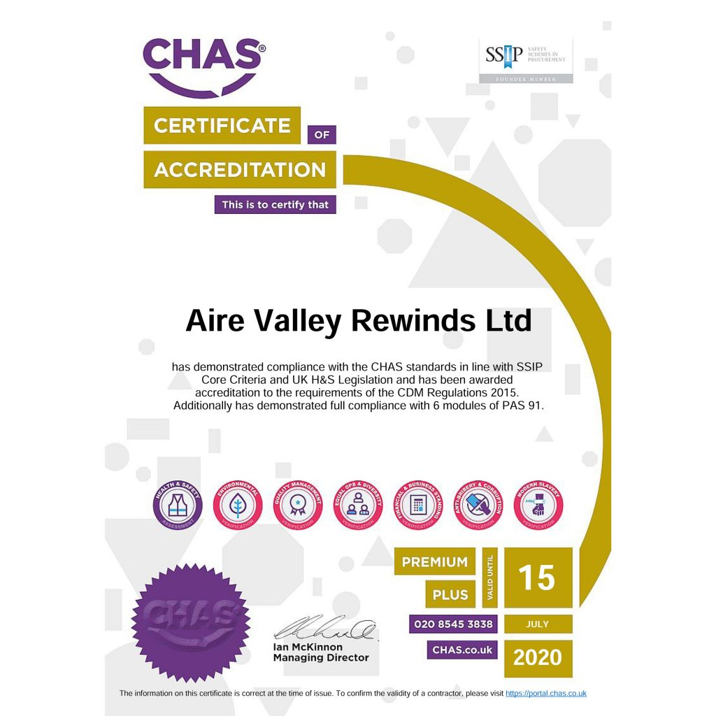 Upgraded to CHAS Premium Plus Accreditation